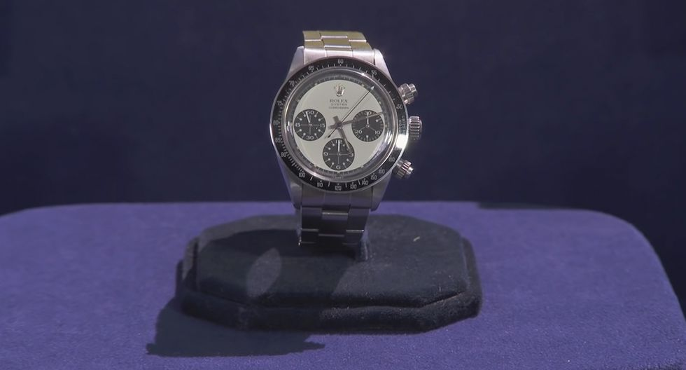 Un veterano de guerra de Estados Unidos se cayó de espaldas al enterarse del valor de un reloj que mantuvo guardado y casi intacto por más de 45 años. (YouTube | Antiques Roadshow PBS)