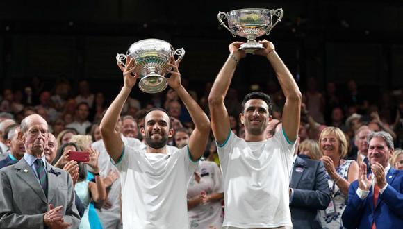 Es la primera vez que una dupla enteramente colombiana gana un título Grand Slam. (Foto: EFE)