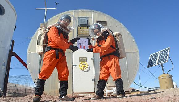 Equipo peruano ya empezó simulación de misión a Marte