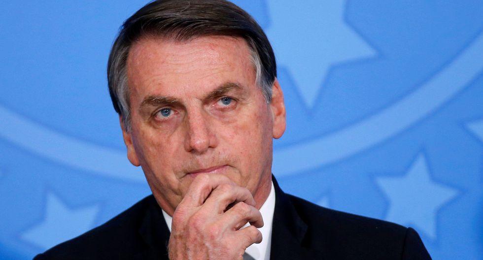 """""""América Latina tiene que estar estable. Esa situación nos preocupa. La preocupación existe"""", aseguró Jair Bolsonaro en declaraciones que concedió a periodistas brasileños en Abu Dhabi. (REUTERS/Adriano Machado)."""