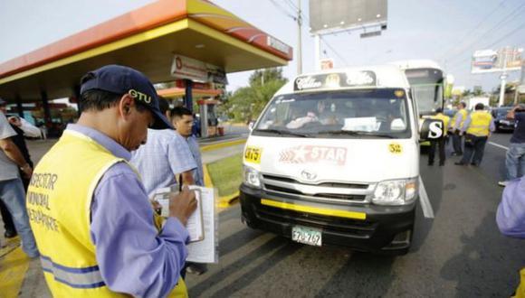Corredor Javier Prado: retiran tres mil unidades no autorizadas