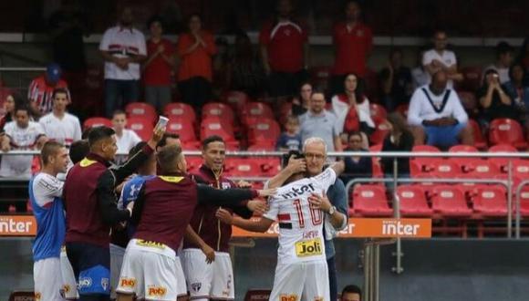 Dorival Junior ha perdonado a Christian Cueva. Ahora espera que no cometa los mismos errores y se comprometa al 100% con Sao Paulo en el Campeonato Paulista y demás competiciones. (Foto: UOL Esporte)