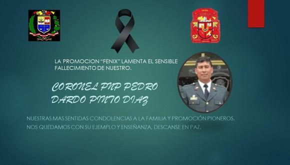 Quién fue el coronel PNP Pedro Pinto Díaz, la décima víctima mortal del Covid19 en Lambayeque