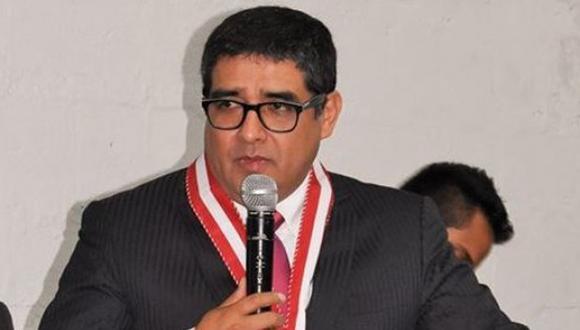 El fiscal supremo Víctor Rodríguez Monteza es señalado por presuntamente alertar a jueces superiores y supremos sobre investigación reservada, ello en un informe de Pablo Sánchez. (Foto: Ministerio Público)