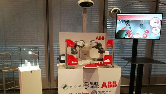El robot puede aprender a comportarse y las necesidades de sus compañeros. (Foto: Difusión)