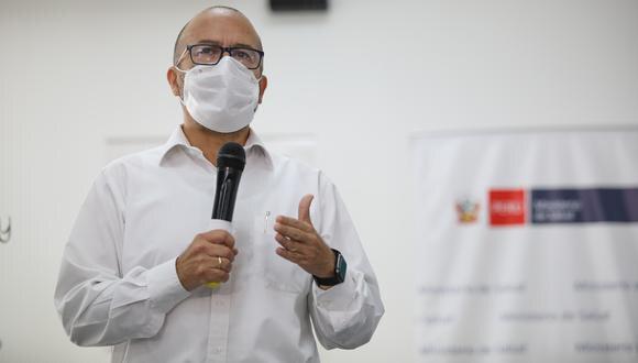 El presidente de la Subcomisión de Acusaciones Constitucionales, Carlos Pérez Ochoa, indicó que el extitular del Ministerio de Salud está denunciado por los presuntos delitos de propagación de enfermedad peligrosa y negociación incompatible. (Foto: El Comercio)