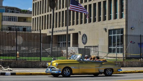 """Principal prueba del """"ataque sónico"""" a la Embajada de Estados Unidos en Cuba era el zumbido de grillos. (Foto: AFP)."""