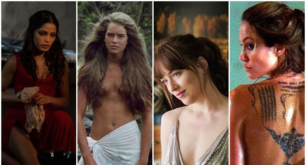 10 actrices que usaron dobles de cuerpo para rodar escenas de sexo (Fotos: Difusión)