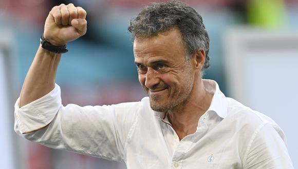 Luis Enrique señaló que es un líder para España, pero desde fuera del campo. (Foto: AP)