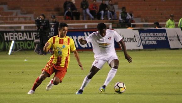 LDU de Quito vs. Aucas EN VIVO vía Gol TV: se miden por la cuarta fecha de la Serie A de Ecuador. (Foto: Twitter LDU de Quito)