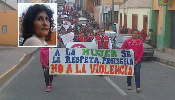 Mujer atacada a correazos recibió respaldo de pobladores