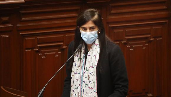 """La ministra de Economía y Finanzas, María Antonieta Alva, informó que el proyecto de Ley de Presupuesto para el próximo año se trata de uno """"especialmente relevante"""". (Foto: MEF)"""