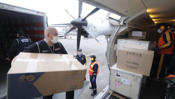 Piura: Minsa envía una tonelada de equipos de protección personal y cinco ventiladores mecánicos para hospitales piuranos. (Foto Minsa)