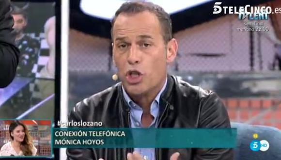 Mónica Hoyos: Pagué pasajes para que Carlos Lozano viaje a Perú