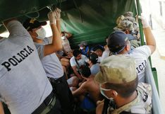 Piura: Intervienen a 24 personas en Catacaos tras inicio de toque de queda a las 4 p.m. | FOTOS