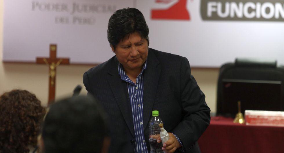 Edwin Oviedo cumple prisión preventiva en el penal de Picsi, en Chiclayo, desde diciembre del 2018. (Foto: Alessandro Currarino)