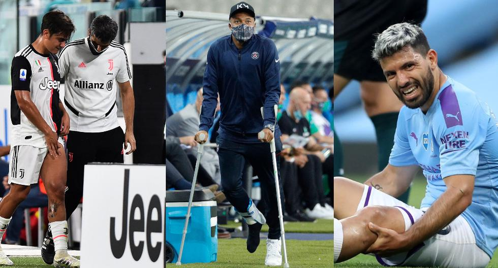 Los posibles ausentes por lesión para el regreso de la Champions League | Fotos: Agencias