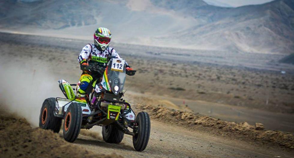 La organización no autorizó al piloto boliviano a competir en el Dakar 2019 con su cuatrimoto Barren Race. (Foto: Facebook)