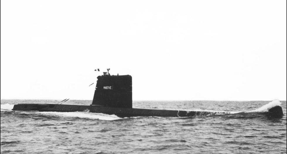 'La Minerva' es el nombre de este submarino que fue hallado en las playas de Tolón, en el sureste de Francia. (Foto: AFP)