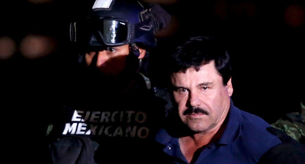 Juicio a El Chapo Guzmán en Nueva York cadena perpetua: el narcotráfico continúa en México. (Reuters).