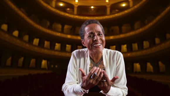 """Susana Baca triunfó en los Latin Grammy 2020 como Mejor álbum folclórico por """"A capella"""". (Foto: JUAN PONCE  VALENZUELA/GEC)"""
