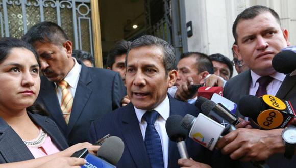 El exmandatario Ollanta Humala cuestionó procesos en su contra por declaraciones de Martín Belaunde Lossio. (Foto: Andina)