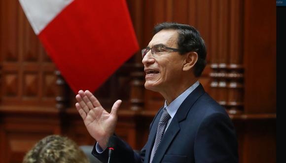 Presidente Martín Vizcarra afronta su segunda moción de vacancia (Foto: Presidencia de la República)