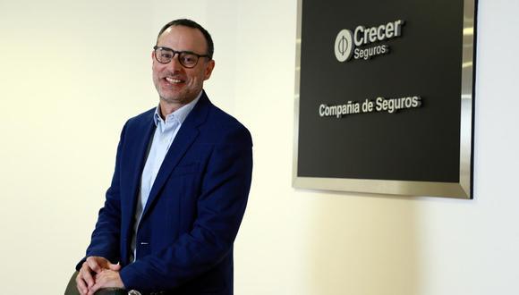Marcel Fort, gerente general de Crecer Seguros. (Foto: GEC)