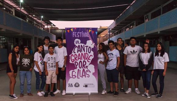 """El colectivo indicó que el proyecto se denomina """"Un nuevo Canto Grande por ellas"""", liderado por jóvenes integrantes distrital que buscan erradicar la violencia.  (Foto:  SJL en Acción)"""