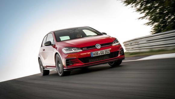 El Volkswagen GTI TCR 2019 ya está a la venta en Alemania a un precio de 38.950 euros. (Fotos: Volkswagen).