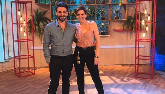 Rodrigo González y Gigi Mitre se reunieron en instalaciones de Willax y alistan su regreso a la TV. (Foto: @rodgonzalezl)