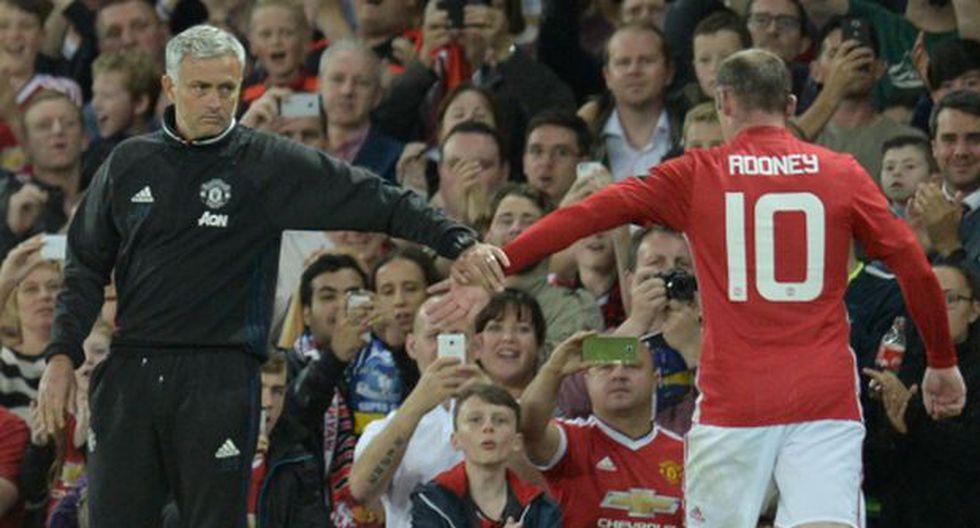 """Mourinho: """"Lo mejor de Wayne Rooney está todavía por llegar"""""""