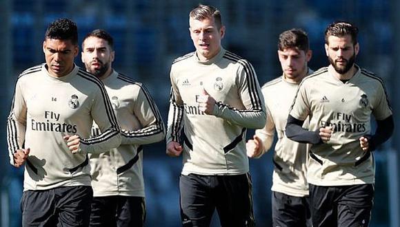 Real Madrid lucirá tres nuevas 'pieles' la siguiente campaña. (Foto: AFP)