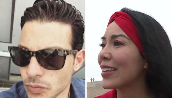 Patty Wong salió al frente para denunciar a su exesposo Federico Barone por agresiones físicas y emocionales. (Captura de pantalla / América TV).