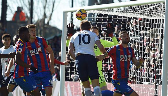 YouTube: Harry Kane dio victoria al Tottenham con golazo de cabeza. (Foto: AFP)