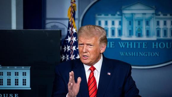 El presidente de Estados Unidos Donald Trump. (EFE/EPA/Al Drago).
