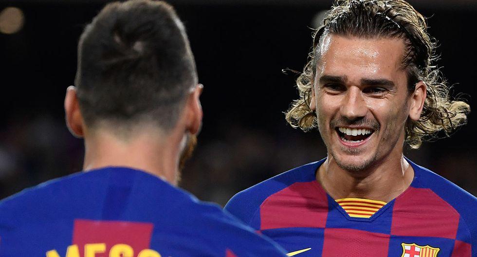 Barcelona juega con Messi y Griezmann ante Slavia Praga por la cuarta fecha de la Champions League en el Camp Nou. AFP