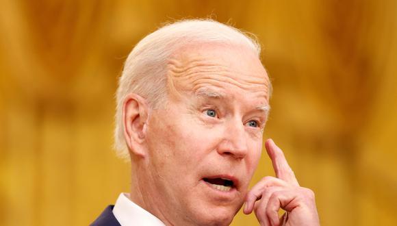 Joe Biden, presidente de Estados Unidos desde enero. (Foto: Reuters)