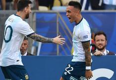"""Lautaro Martínez: """"Messi es el mejor jugador del mundo, está en otro nivel"""""""