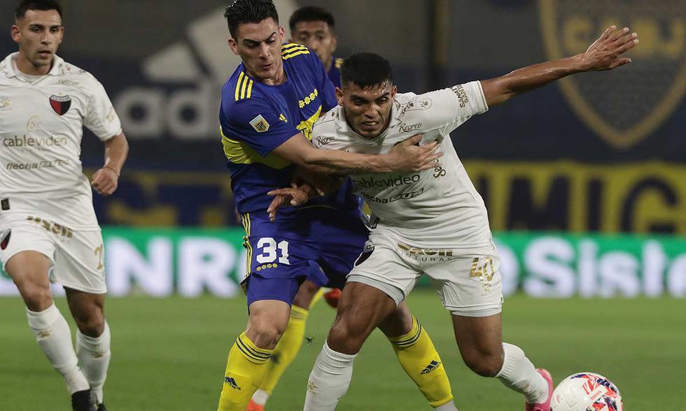 Boca Juniors recibió a Colón por la Liga Profesional 2021 | Foto: AFP.