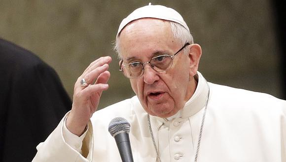 Tras ataques anónimos, el Papa compara insultos con asesinato