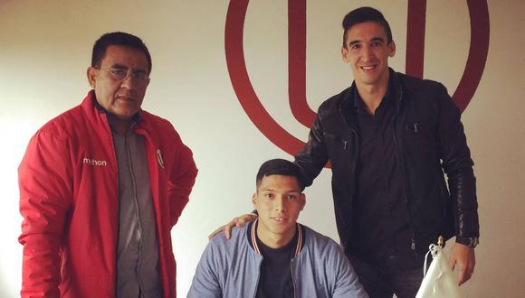 Gerson Barreto firmó contrato con Universitario de Deportes. (Foto: @germanalemanno))