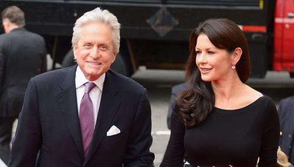 Michael Douglas admite que avergonzó a Catherine Zeta-Jones