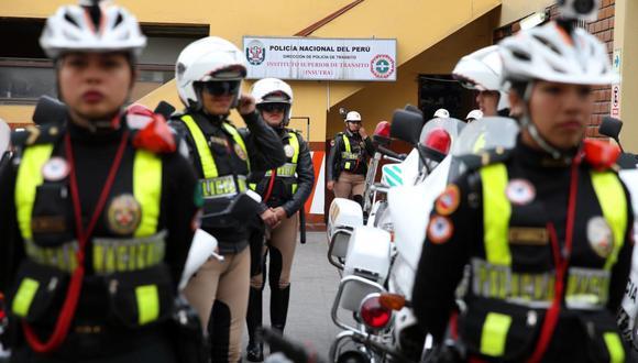 Se contará con el apoyo de 730 patrulleros. (Foto: Andina)
