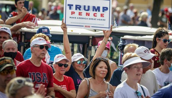 El Partido Republicano sigue atrayendo más a los votantes blancos. (AFP)