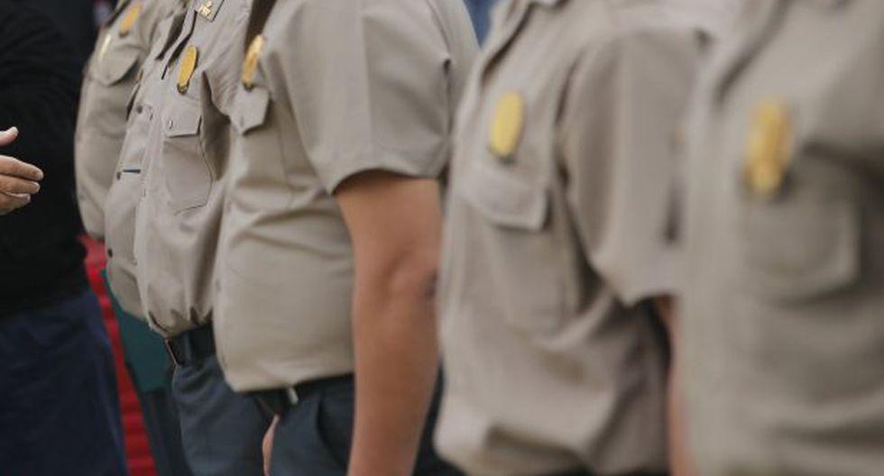 El 25% de los policías en Arequipa tiene sobrepeso