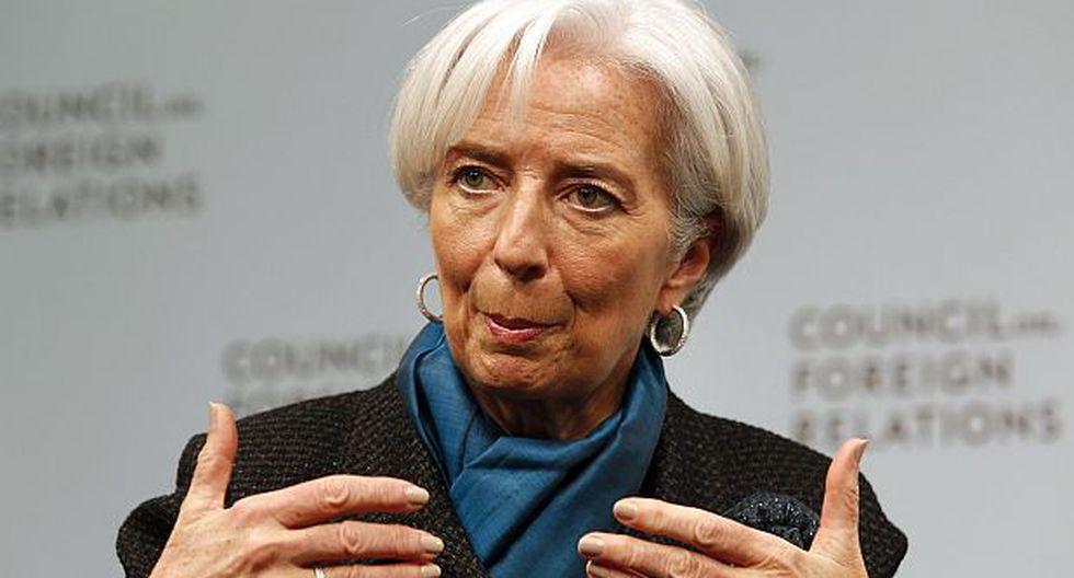 Lagarde no ve con optimismo el 2015 pese al petróleo barato