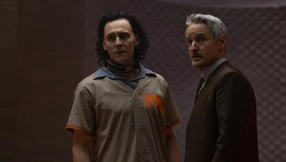"Tom Hiddleston y Owen Wilson, protagonistas de ""Loki"". Foto: Disney+/ Marvel Studios."