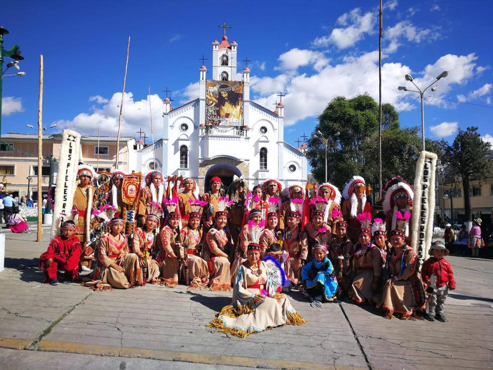 Se trata de una agrupación cultural que nació en homenaje al Señor de la Soledad y a la Virgen de las Mercedes, patronos de Barranca.(Foto: Facebook/ Pieles Rojas de Paramonga)