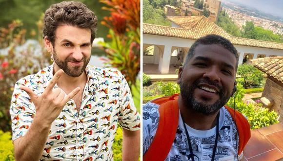 """El conductor de televisión Jaime """"Choca"""" Mandros le responde a Rodrigo González por comentarios de su trabajo. (@chocamandrose / @rodgonzalezl)."""